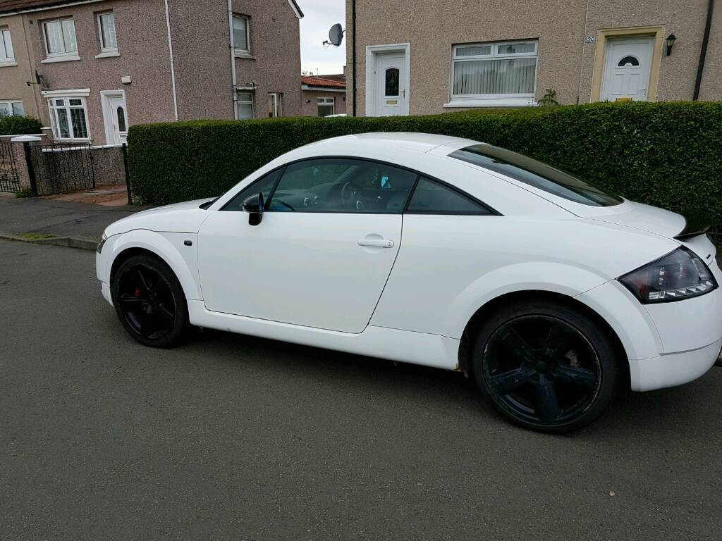 rare white mk1 audi tt 180bhp quattro for sale in east end glasgow gumtree. Black Bedroom Furniture Sets. Home Design Ideas