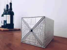 Le Crouset Silver Croc wine cube