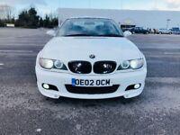 LPG, BMW 330ci M SPORTS, White, 2002 Fcelift Model, Mot November 2018.