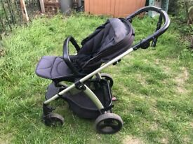 mamas and papas Sola² Pushchair and carrycot