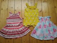 Baby girl summer outfits clothing bundle age 6-9months