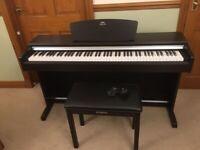 Yamaha YDP-141 Digital Piano in rosewood with Yamaha matching stool