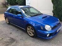 Subaru Impreza WRX Wagon - WRC blue with iconic gold wheels