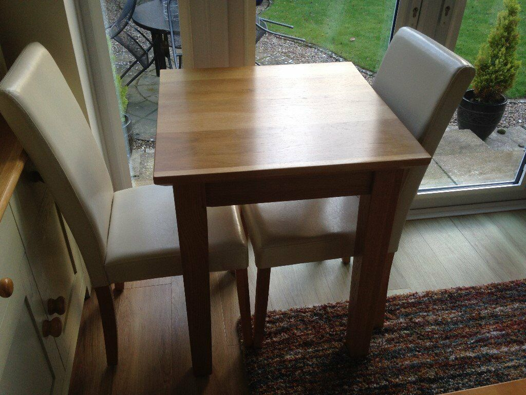 Small Wooden Dining Table Amp 2 Chairs In Norwich Norfolk Gumtree