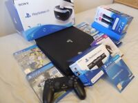 Sony Playstation 4 Pro 1 TB and VR Bundle