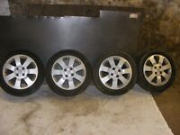 Vauxhall Corsa C Sxi Alloy wheels and winter tyres