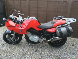 BMW F800s 2008 ABS A2 compatible with lots of extras. Luggage included