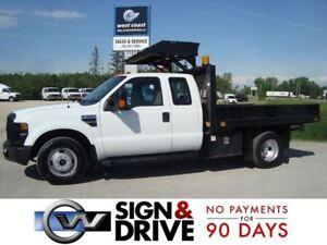 2009 Ford F-350 XL *9 FT Power Tilt Flat Deck*