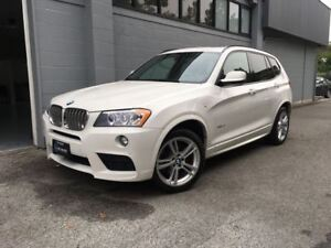 2014 BMW X3 xDrive28i M Sport! Only 47000kms! Easy Approvals!
