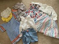 Girls 9-12 month summer clothes bundle