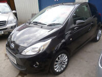 Ford KA Zetec,1.2 cc 3 door hatchback,2 previous owners,2 keys,£30 a yr tax,56,000 miles,great mpg