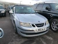 55 REG SAAB 9-3 2.0 T AERO 2DR-FULL LEATHER-12 MONTH MOT-GREAT LOOKING CONVERTIBLE AUTO-DRIVES WELL