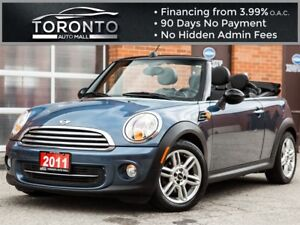 2011 MINI Cooper Convertible No accidents|Automatic|Leather|Heat