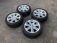 BMW M-SPORTS 17INCH alloys BRIDGESTONE TYRES