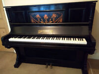Unique Item - Electric piano that looks like a beautiful old acoustic piano