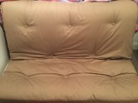 Double futon used couple of times