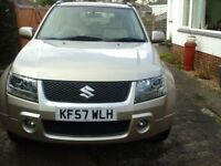 2007 suzuki grand vitara 1995cc 16v automatic petrol mot march 2019 low mileage 59.518 .£4.995.00