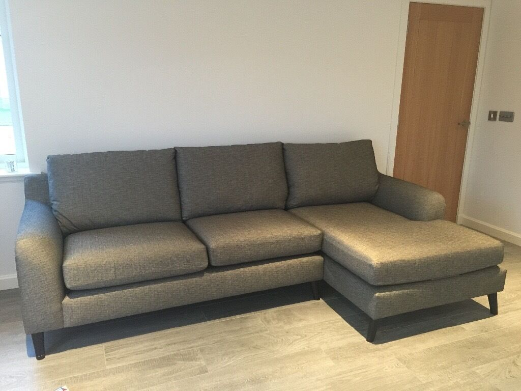 Large Grey Corner Chaise Sofa From Next In Scone Perth