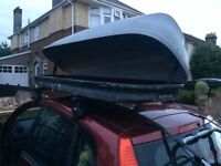 Roof bar mounting Halfords Lockable TOP-BOX