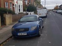 Audi TT Coupe, 1.8cc Blue, L/H Drive