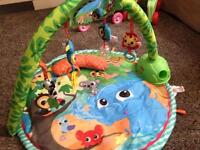 Little Tikes Baby Gym and Tummy Time Mat