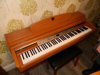 Yamaha Clavinova CLP-240 Digital Piano Full Size 88 keys 3 pedals stool