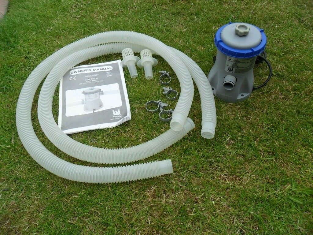 Above Ground Bestway Flow Clear Pool Filter Pump Model No