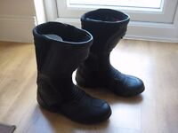 Spyke Motorcycle Boots (NEW)