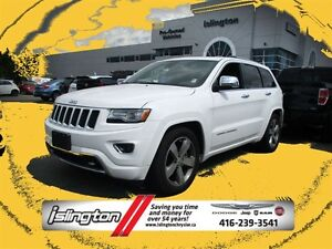 2015 Jeep Grand Cherokee OVERLAND - 4x4, 3.0L ECO DIESEL V6