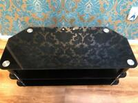 Tv Stand Black glass panel *Brand New Condition*