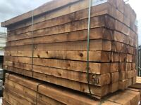 Railway sleepers in Cheshire   Wood & Timber For Sale - Gumtree