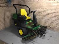 John Deere 2500 gang mower grass cutter ride on mower