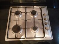 Stainless Steel Gas Hob (Integrated)