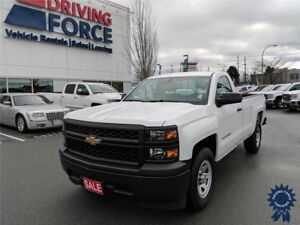 2015 Chevrolet Silverado 1500 Regular Cab 2WD w/8' Box, 4.3L Gas