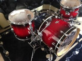 Mapex Pro M with cases and hardware