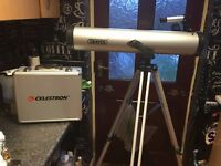 Draper Telescope + Celestron Telescope Eyepiece and Filter Kit