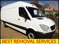 🚚LasT Minute Order 24/7 . Bristol Man and Van. Removal Services