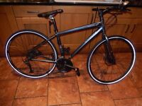 Trek Valencia Hybrid Commuter Bicycle Bike 17.5in Frame (Small-Medium) - many new components