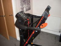 motorised treadmill with manual incline - brand new - never used