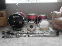 premier cabria xpk drum kit x5 drums and hardware