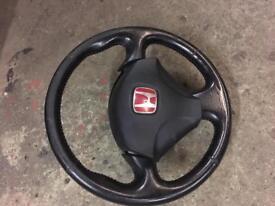 Honda Civic type r steering wheel