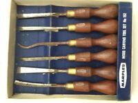 Vintage Marples Wood Carving tools. Set no: 152