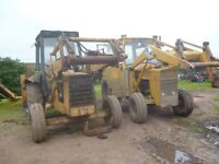 Ford 555 & MF 3303 diggers