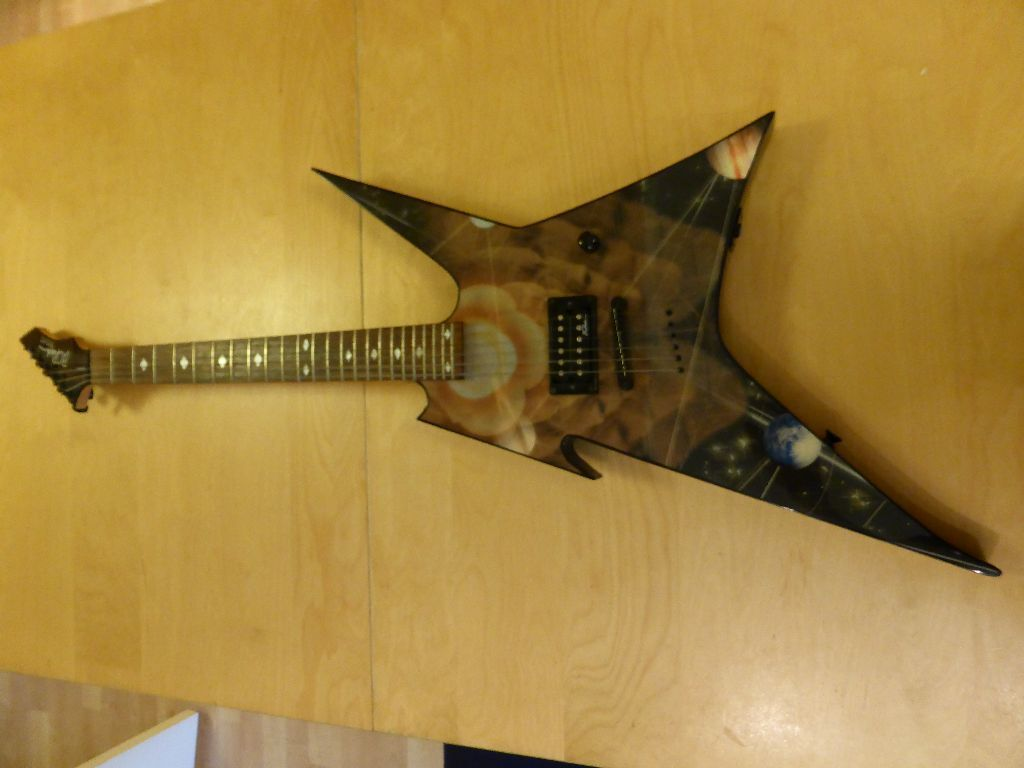 BC RICH IRONBIRD ELECTRIC GUITAR - LIMITED EDITION SPACE