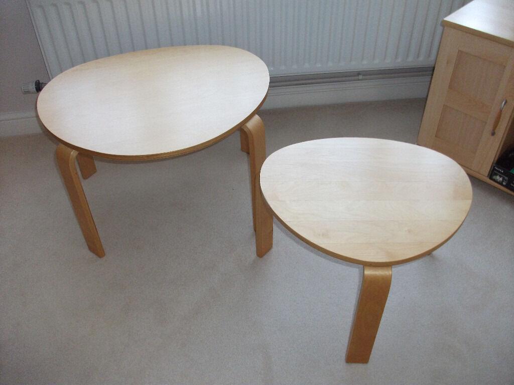 Ikea svalsta nest of tables in royston cambridgeshire gumtree