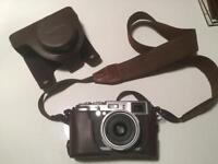 Fujifilm X100 Camera plus real leather case