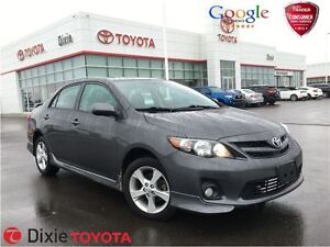 2011 Toyota Corolla S ALLOY WHEELS, MOONROOF AND MORE
