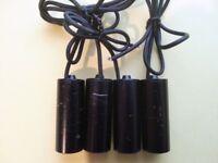 Job lot of 4 x B/W Bullet CCD Security Camera