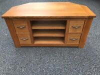 Solid oak TV stand possible delivery
