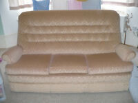 Parker Knoll 3 Seater Settee/Large Sofa with Wheels from John Lewis for sale. Model: Verona.